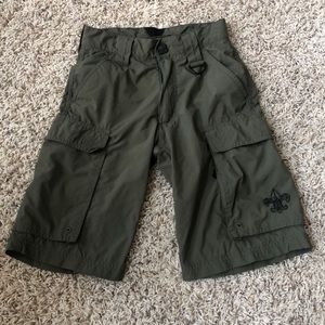 Boy Scouts of America nylon cargo shorts